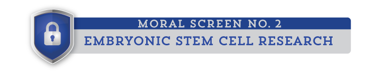 moral screen 2: Embryonic Stem Cell Research