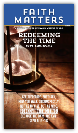 FaithMatters no15 - Redeeming the Time