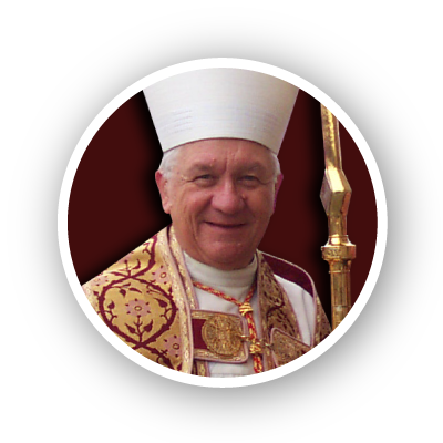 Photo of His Eminence<br>Adam Cardinal Maida